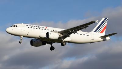 F-GKXE - Airbus A320-214 - Air France