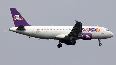 SU-BPU - Airbus A320-214 - Air Cairo