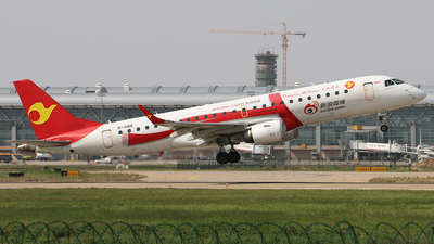 B-3166 - Embraer 190-100LR - Tianjin Airlines