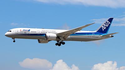 A picture of JA882A - Boeing 7879 Dreamliner - All Nippon Airways - © Swisse - HKPSA