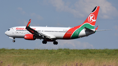 A picture of 5YCYD - Boeing 7378HX - Kenya Airways - © ORTIASpotter
