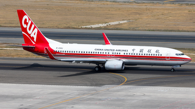 B-206U - Boeing 737-89P - China United Airlines