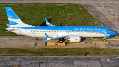LV-HKW - Boeing 737-8 MAX - Aerolíneas Argentinas