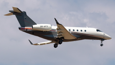 9H-AFX - Embraer EMB-550 Legacy 500 - Private