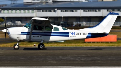 JA4199 - Cessna U206G Stationair - First Flying (FFC)