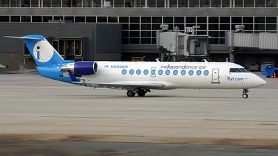 N683BR - Bombardier CRJ-200ER - Independence Air