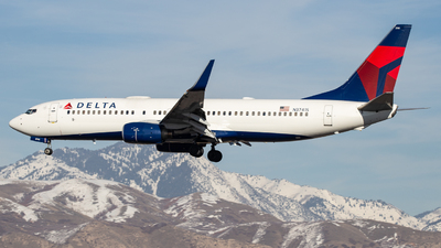 A picture of N3741S - Boeing 737832 - Delta Air Lines - © John Marzo