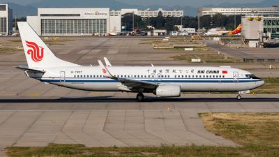 B-7897 - Boeing 737-89L - Air China