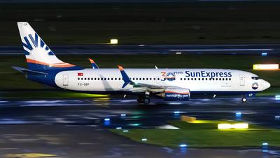 A picture of TCSEP - Boeing 7378HC - SunExpress - © Sebastian Thiel