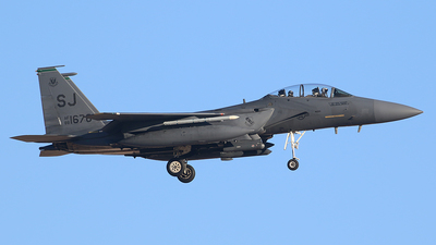 88-1676 - McDonnell Douglas F-15E Strike Eagle - United States - US Air Force (USAF)