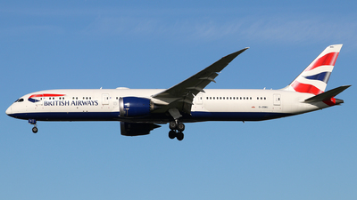 G-ZBKI - Boeing 787-9 Dreamliner - British Airways