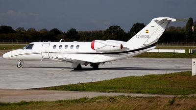 EC-MOQ - Cessna 525 Citationjet CJ4 - Private
