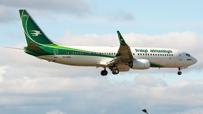 YI-ASQ - Boeing 737-81Z - Iraqi Airways