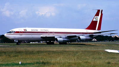 C5-GOB - Boeing 707-123B - Guyana Airways