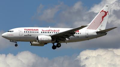 TS-IOM - Boeing 737-6H3 - Tunisair