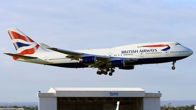 G-BNLB - Boeing 747-436 - British Airways