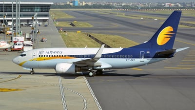VT-JGY - Boeing 737-75R - Jet Airways