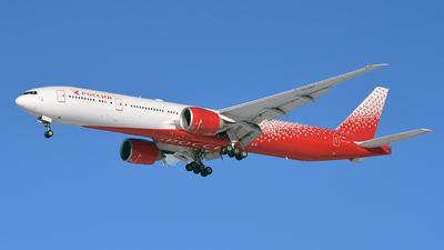 EI-GET - Boeing 777-31HER - Rossiya Airlines
