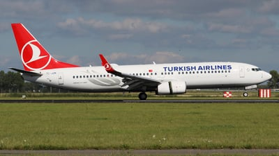 A picture of TCJZN - Boeing 7378JP - Turkish Airlines - © Jan-Eike Berger
