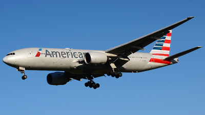 A picture of N767AJ - Boeing 777223(ER) - American Airlines - © Stefano Betti