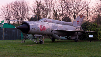 1504 - Mikoyan-Gurevich MiG-21bis Fishbed N - Soviet Union - Air Force