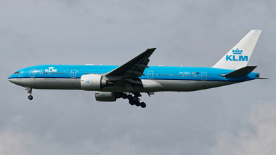 A picture of PHBQC - Boeing 777206(ER) - KLM - © jaga