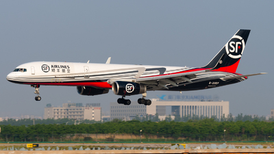B-20EF - Boeing 757-236(PCF) - SF Airlines