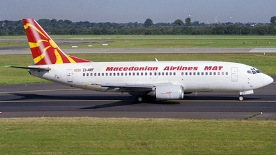 Z3-ARF - Boeing 737-3H9 - Macedonian Airlines (MAT)