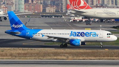 9K-CAN - Airbus A320-214 - Jazeera Airways
