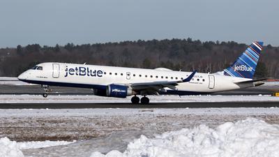 N337JB - Embraer 190-100IGW - jetBlue Airways