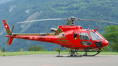 A picture of HBZKT - Airbus Helicopters H125 - [4884] - © Nils Berwing