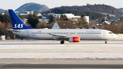 A picture of LNRRU - Boeing 737883 - SAS - © Stian Haabeth
