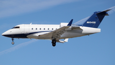 N604SB - Bombardier CL-600-2B16 Challenger 604 - Private