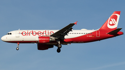 D-ABDO - Airbus A320-214 - Air Berlin