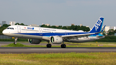 A picture of JA148A - Airbus A321272N - All Nippon Airways - © Tokubee