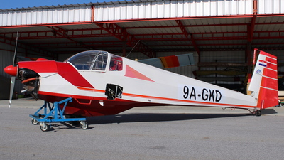 9A-GKD - Scheibe SF.25C Falke - Private
