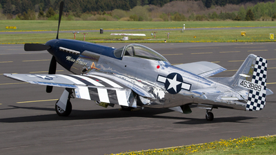 N4034S - North American P-51D Mustang - Private