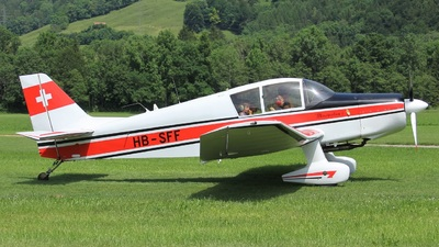 HB-SFF - Jodel D140C Mousquetaire III - Private