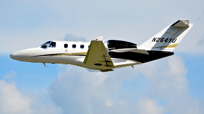 N264YU - Cessna 525 CitationJet M2 - Private