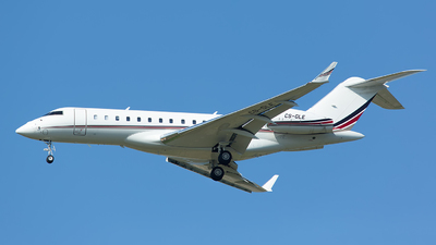 CS-GLE - Bombardier BD-700-1A10 Global 6000	 - NetJets Europe