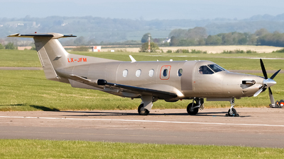 LX-JFM - Pilatus PC-12/47 - Jetfly Aviation