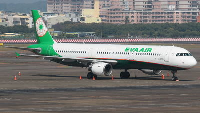 B-16201 - Airbus A321-211 - Eva Air