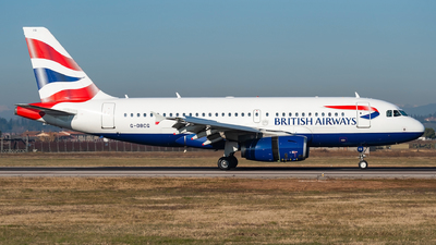 G-DBCG - Airbus A319-131 - British Airways