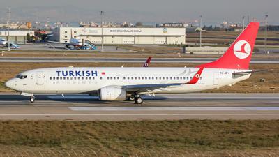 TC-JFJ - Boeing 737-8F2 - Turkish Airlines