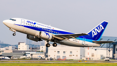 JA8196 - Boeing 737-54K - ANA Wings