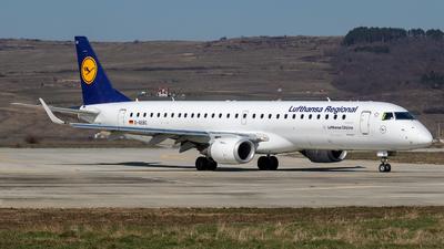 A picture of DAEBC - Embraer E195LR - Lufthansa - © Zoltán Gyurka