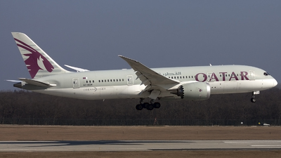 A picture of A7BCN - Boeing 7878 Dreamliner - Qatar Airways - © if