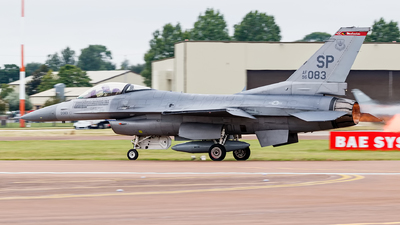 96-0083 - Lockheed Martin F-16CM Fighting Falcon - United States - US Air Force (USAF)