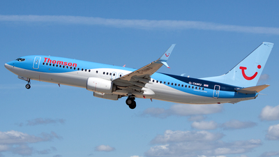 G-TAWU - Boeing 737-8K5 - Thomson Airways