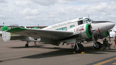 N75Q - Beech C-45G Expeditor - Private